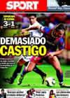 Portada diario Sport del 15 de Agosto de 2010