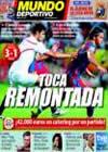 Portada Mundo Deportivo del 15 de Agosto de 2010