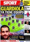 Portada diario Sport del 17 de Agosto de 2010