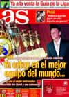 Portada diario AS del 19 de Agosto de 2010