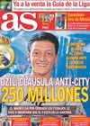 Portada diario AS del 21 de Agosto de 2010