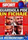 Portada diario Sport del 21 de Agosto de 2010
