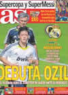 Portada diario AS del 22 de Agosto de 2010