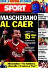 Portada diario Sport del 23 de Agosto de 2010