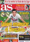 Portada diario AS del 24 de Agosto de 2010