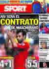 Portada diario Sport del 24 de Agosto de 2010