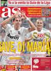 Portada diario AS del 25 de Agosto de 2010
