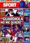Portada diario Sport del 26 de Agosto de 2010