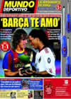 Portada Mundo Deportivo del 26 de Agosto de 2010