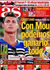 Portada diario AS del 27 de Agosto de 2010