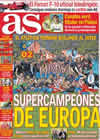 Portada diario AS del 28 de Agosto de 2010