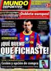 Portada Mundo Deportivo del 28 de Agosto de 2010