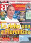 Portada diario AS del 29 de Agosto de 2010