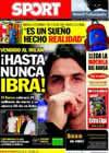 Portada diario Sport del 29 de Agosto de 2010