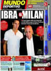 Portada Mundo Deportivo del 29 de Agosto de 2010