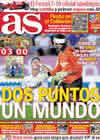Portada diario AS del 30 de Agosto de 2010