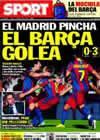 Portada diario Sport del 30 de Agosto de 2010