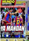 Portada Mundo Deportivo del 30 de Agosto de 2010