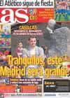 Portada diario AS del 31 de Agosto de 2010