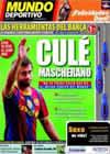 Portada Mundo Deportivo del 31 de Agosto de 2010