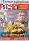 Portada diario AS del 2 de Septiembre de 2010