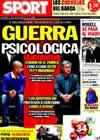 Portada diario Sport del 2 de Septiembre de 2010