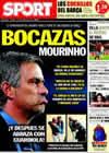 Portada diario Sport del 3 de Septiembre de 2010