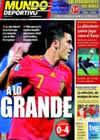 Portada Mundo Deportivo del 4 de Septiembre de 2010