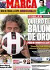 Portada diario Marca del 5 de Septiembre de 2010