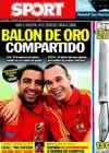Portada diario Sport del 5 de Septiembre de 2010