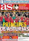 Portada diario AS del 6 de Septiembre de 2010