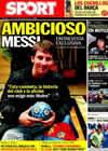 Portada diario Sport del 6 de Septiembre de 2010