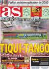 Portada diario AS del 7 de Septiembre de 2010