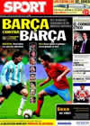 Portada diario Sport del 7 de Septiembre de 2010