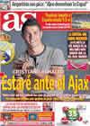 Portada diario AS del 9 de Septiembre de 2010