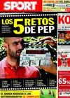 Portada diario Sport del 9 de Septiembre de 2010