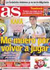 Portada diario AS del 10 de Septiembre de 2010