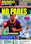 Portada Mundo Deportivo del 11 de Septiembre de 2010