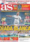 Portada diario AS del 12 de Septiembre de 2010