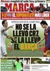 Portada diario Marca del 12 de Septiembre de 2010