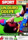 Portada diario Sport del 12 de Septiembre de 2010