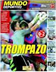Portada Mundo Deportivo del 12 de Septiembre de 2010