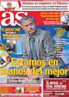 Portada diario AS del 13 de Septiembre de 2010
