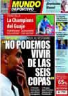 Portada Mundo Deportivo del 13 de Septiembre de 2010