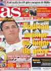 Portada diario AS del 14 de Septiembre de 2010