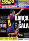 Portada Mundo Deportivo del 14 de Septiembre de 2010