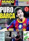 Portada Mundo Deportivo del 15 de Septiembre de 2010
