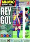 Portada Mundo Deportivo del 16 de Septiembre de 2010