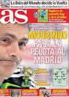 Portada diario AS del 18 de Septiembre de 2010