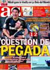 Portada diario AS del 19 de Septiembre de 2010